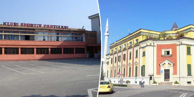 Zyrtare  Klubi  Partizani  dhe  Studenti  i kalojnë Bashkisë së Tiranës