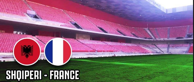 Shqipëri Francë  formacionet zyrtare  Ja si do rreshtohen ekipet në fushë