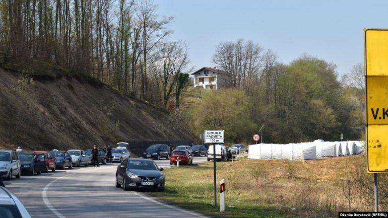 Bosnje dhe Hercegovina hap kufijtë me vendet fqinje Serbi  Mal i Zi dhe Kroaci